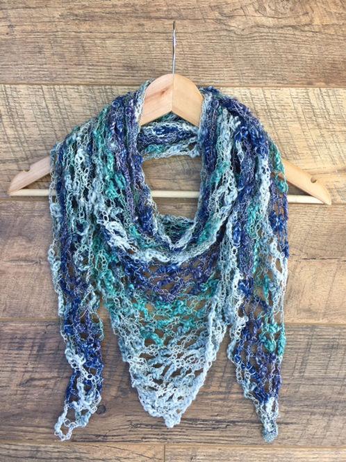 beautiful crochet summer scarf