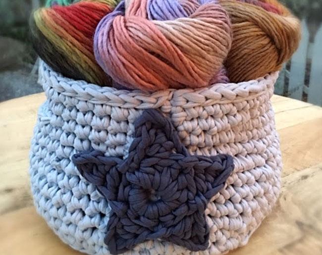 learn to crochet a basket