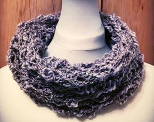 crochet cowl workshop