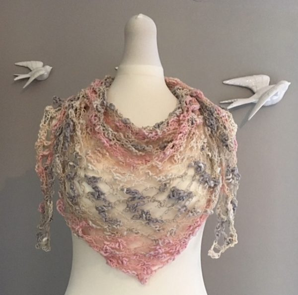 V-Neck Crochet Scarf Pattern