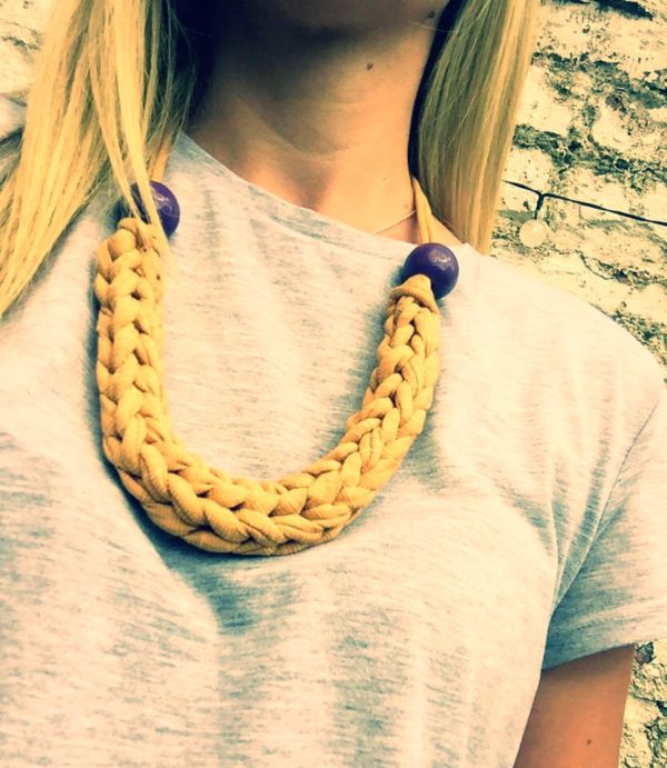 Crochet pattern for Chunky Crocheted Necklaces