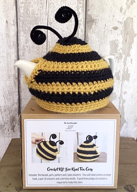 Bee cosy tea cosy kit