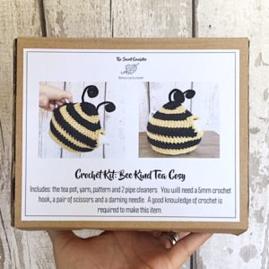 Bee kind tea cosy kit