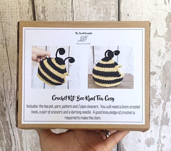 Bee kind tea cosy kit