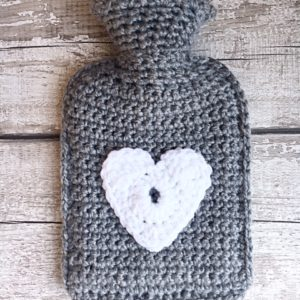 Mini hot water bottle