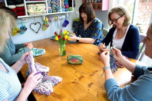 crochet workshops
