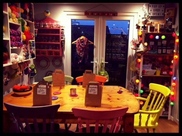 the crochet cabin