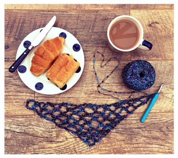 croissants and crochet