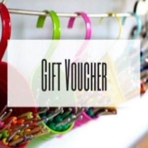 crochet gift vouchers